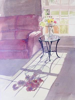Interior Still Life Painting - Spring Morning by Melanie Harman