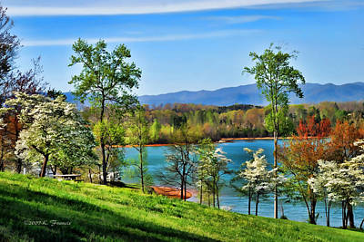 Dogwood Lake Photograph - Spring On The Lake by Kenny Francis