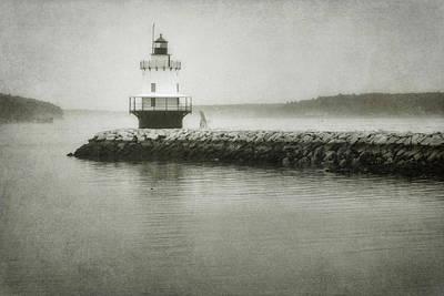 Spring Point Ledge Light Print by Joan Carroll