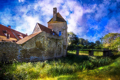 Dungeon Photograph - Spring Romance In The French Countryside by Debra and Dave Vanderlaan