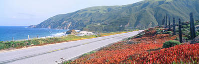 Backroad Photograph - Spring, Route 1, California Coast by Panoramic Images