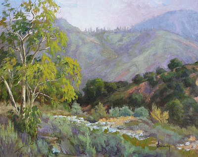 Sycamore Canyon Painting - Spring Sycamore by Sharon Weaver