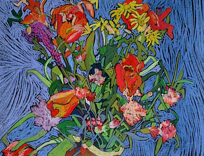 Spring Symphony Print by Frances Treanor