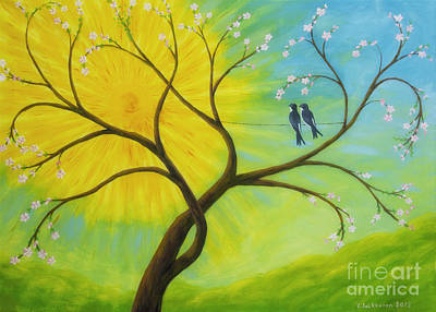 Colorful Contemporary Painting - Spring by Veikko Suikkanen