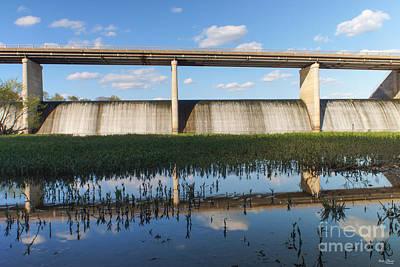 Springfield Lake Missouri Dam Print by Jennifer White