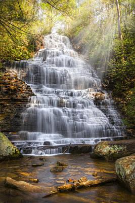 Whitewater Photograph - Springtime At Benton Falls by Debra and Dave Vanderlaan