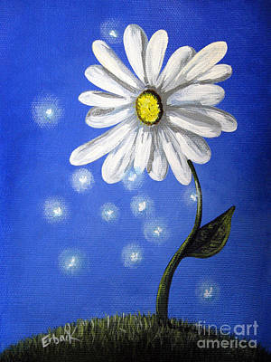 Fantasy Art Painting - Springtime Fairies By Shawna Erback by Shawna Erback