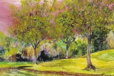 Springtime In Sawgrass Park Print by Gary Debroekert
