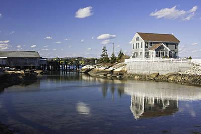 Spruce Head On The Coast Of Maine Print by Keith Webber Jr