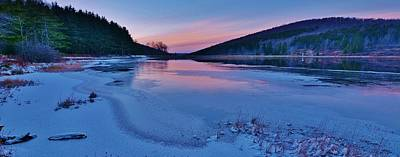 Spruce Knob Lake Sunset Print by Joshua Rexrode