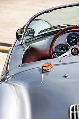 Spyder Cockpit Print by Peter Tellone