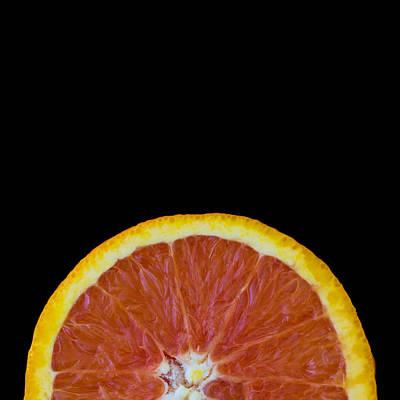 Kitchen Photograph - Square Orange Wheel by Mark McKinney