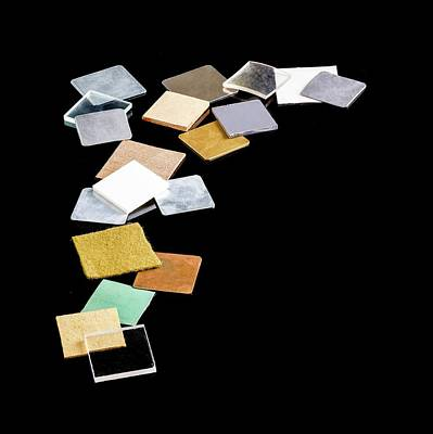 Everyday Photograph - Squares Of Everyday Materials by Science Photo Library