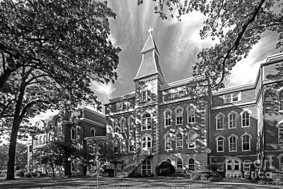 Bee Photograph - St. Ambrose University Ambrose Hall by University Icons