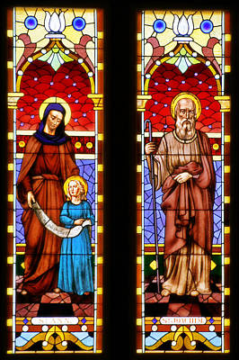 Ann Photograph - St Ann And St Joachim by Christine Till