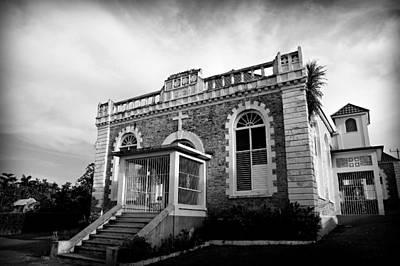 Abolition Photograph - St Ann's Bay Baptist Church by Stephen Stookey