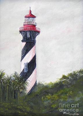 St. Augustine Lighthouse Original by Mike McCaughin