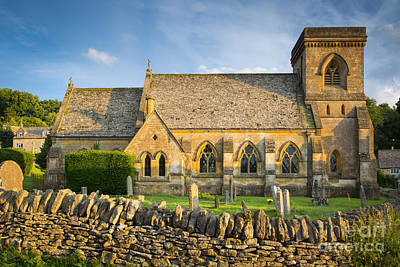 Chapel Of Ease Photograph - St Barnabas by Brian Jannsen