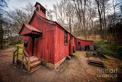 Towns Digital Art - St Chads Tin Tabernacle by Adrian Evans