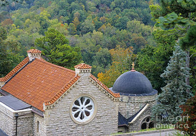 Eureka Springs Photograph - St. Elizabeth Of Hungary Church by Richard and Ellen Thane