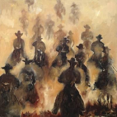 Monotone Painting - St. Elmo's Fire by DJ Stone