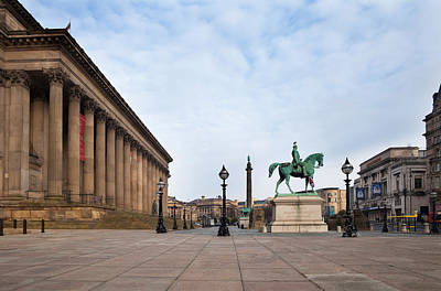 St George Photograph - St Georges Hall, Liverpool, Merseyside by Panoramic Images