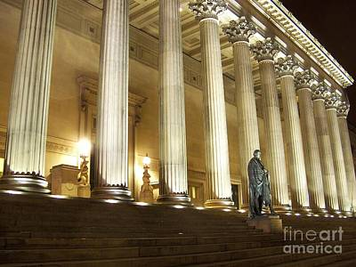 Scouse Photograph - St. Georges Hall Liverpool Uk by Steve Kearns