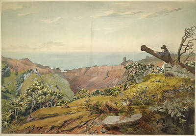 St. Helena Photograph - St. Helena by British Library