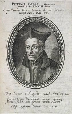 St. Ignatius Loyola Print by British Library