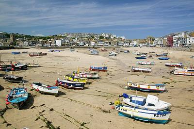 St Ives Print by Ashley Cooper