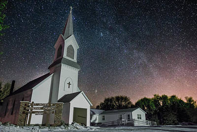 Andromeda Photograph - St. Jacob's by Aaron J Groen