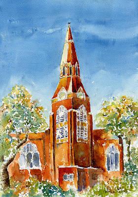 St John's Cathedral Print by Pat Katz