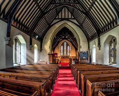 Beam Digital Art - St Johns Church by Adrian Evans