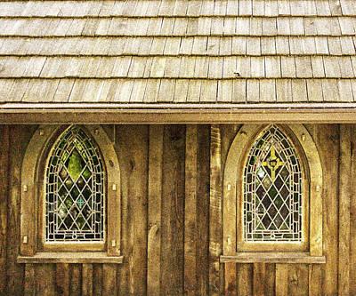 Photograph - St Johns Church - Grain Effect by Karen Stephenson