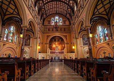 Andy Crawford Photograph - St. Joseph Church - New Orleans by Andy Crawford