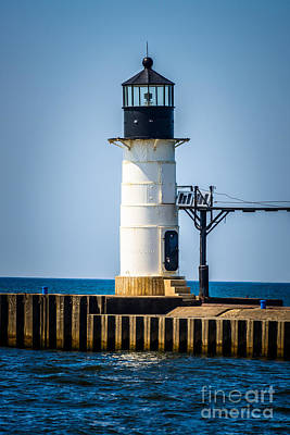 St. Joseph Outer Lighthouse Photo Print by Paul Velgos