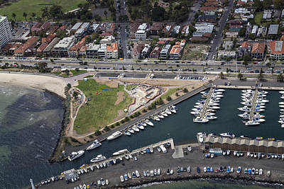 St.kilda Photograph - St Kilda, Melbourne by Brett Price