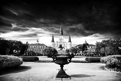St. Louis Cathedral Print by John Rizzuto