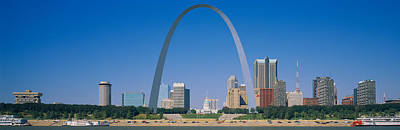 Arches Memorial Photograph - St Louis, Missouri, Usa by Panoramic Images
