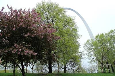 St. Louis Spring Print by Theresa Willingham