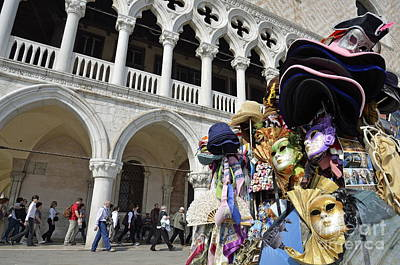 Photograph - St Mark Square By Doges Palace by Sami Sarkis