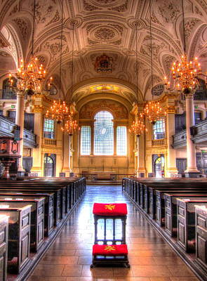St Martin In The Fields Print by Andreas Thust