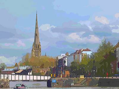 Bridge Photograph - St Mary Redcliffe by Bishopston Fine Art