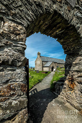 Exteriors Digital Art - St Patrick Arch by Adrian Evans