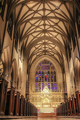 St. Patricks Cathedral Photograph - St Patrick Cathedral  by John McGraw