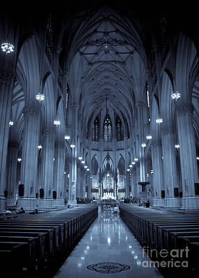 St. Patricks Cathedral Photograph - St. Patricks Cathedral by Ken Marsh