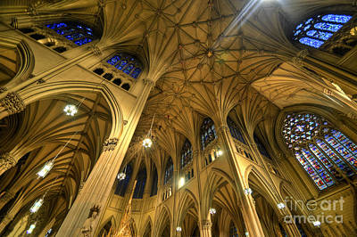St. Patricks Cathedral Photograph - St Patrick's Cathedral - New York 2.0 by Yhun Suarez
