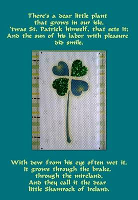 St. Patrick's Day Greetings Print by The Creative Minds Art and Photography