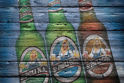 Alcohol Photograph - St Pauli Girl by Joe Hamilton