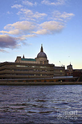 St Paul's Cathedral London Print by Terri Waters